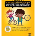 démarrage de l'opération de récupération des vélos sur la déchetterie de Bizanos