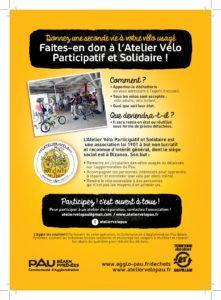 récupération de vélos à la déchetterie de Bizanos