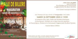 café montage/démontage/inauguration de la Halle bio de Billère